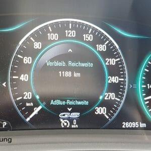 AdBlue Reichweite Opel Insignia A