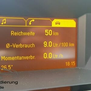 Opel Zafira B Bordcomputer