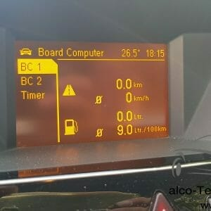 Opel Zafira B Bordcomputer