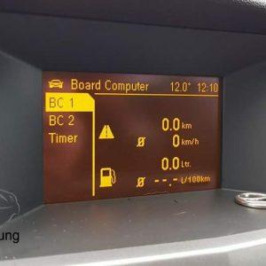 Opel Astra H Bordcomputer Freischaltung