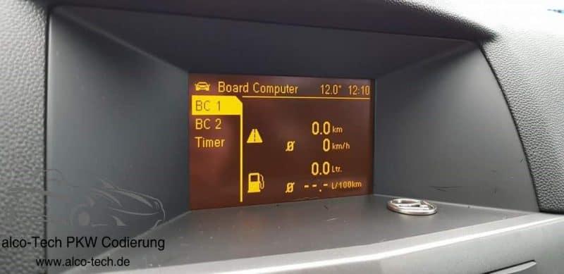 Opel Astra H Bordcomputer Freischalten In Darmstadt Alco Tech