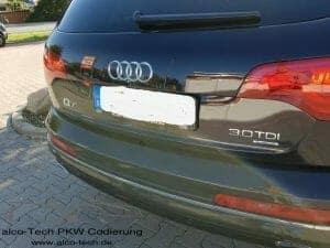 Audi Q7 3.0 TDI Chiptuning