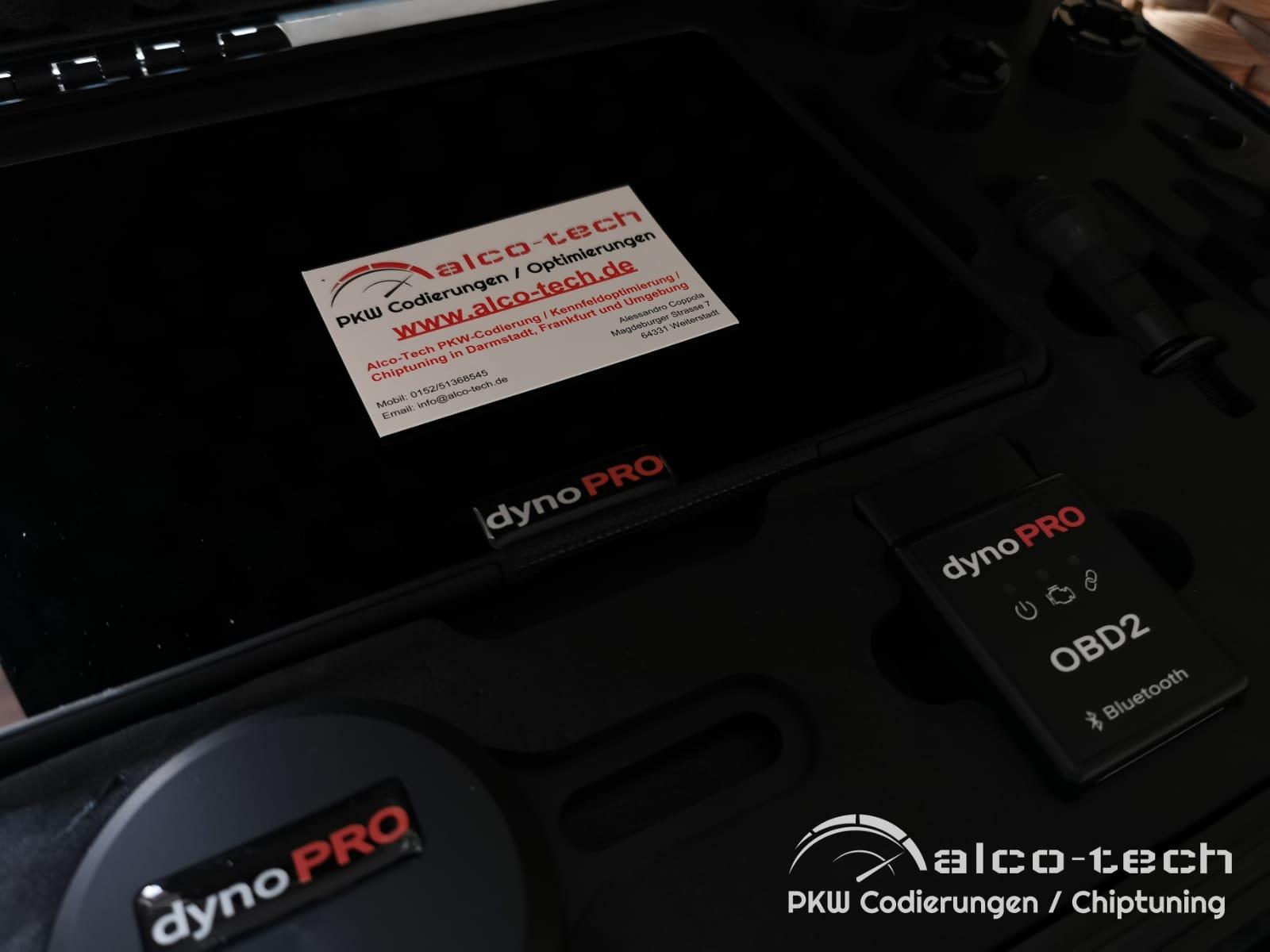 Dyno Pro Prüfstand PKW-Codierung